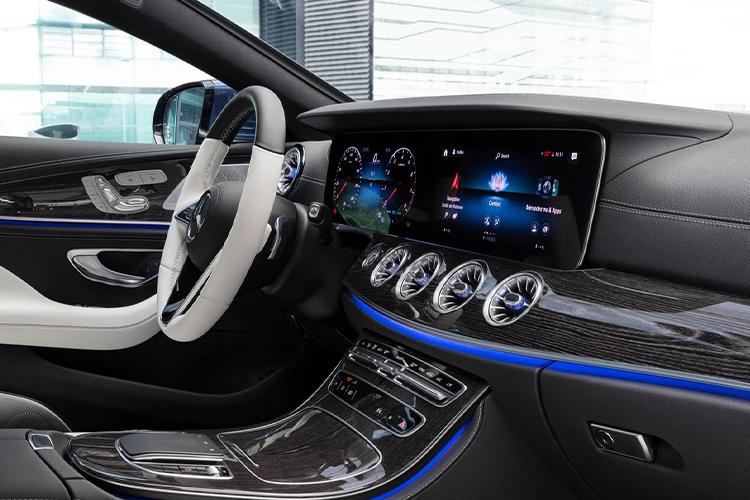 Mercedes-Benz CLS 2022 rediseñado sistema de infoentretenimiento
