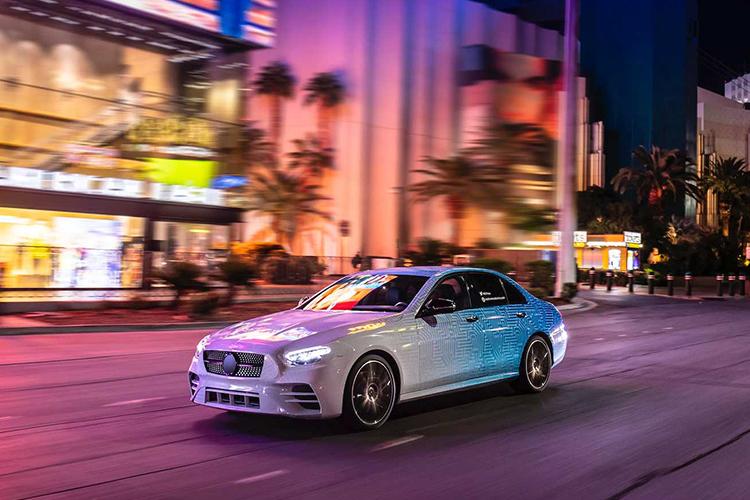 Mercedes-Benz Clase E velocidad
