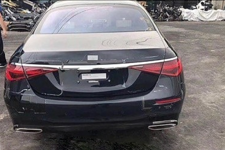Mercedes-Benz Clase S diseño exterior