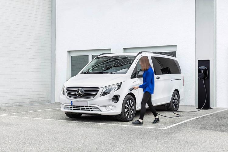 Mercedes-Benz Clase T totalmente eléctrico