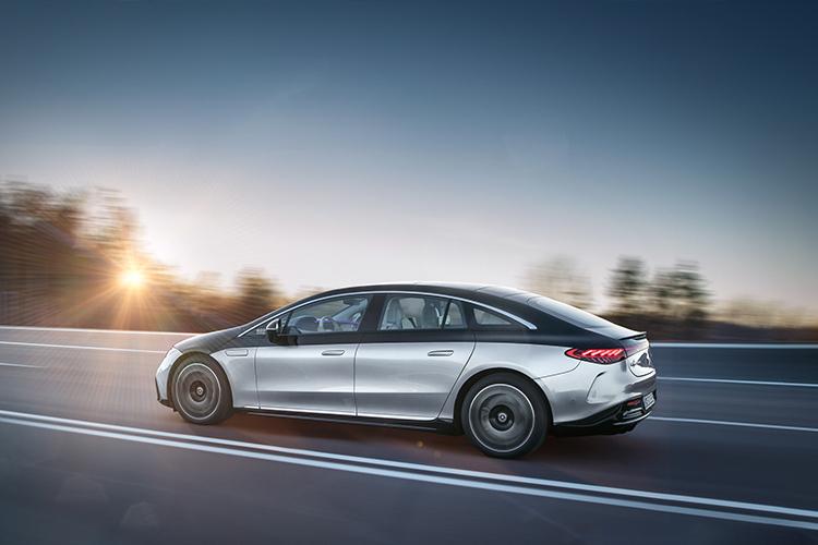 Mercedes-Benz EQS totalmente eléctrico hasta 770 kilómetros de autonomía