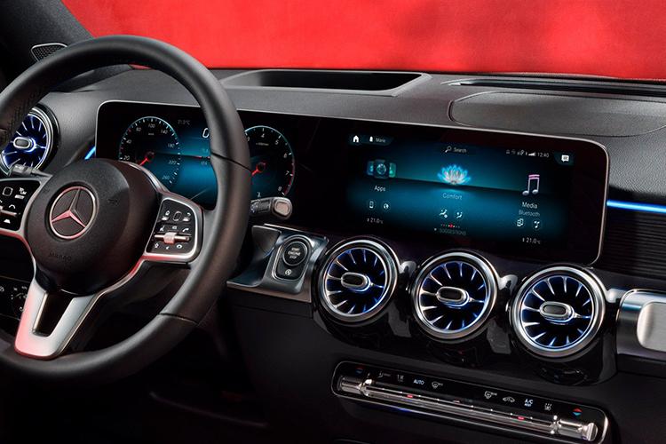 Mercedes-Benz GLB diseño interior