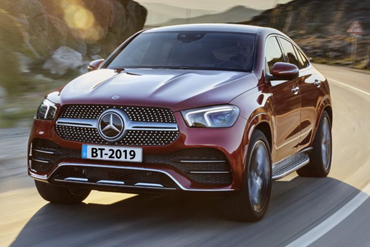 Mercedes-Benz GLE Coupé dos motores de diesel