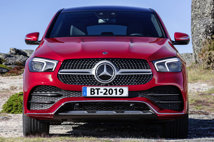 Mercedes-Benz GLE Coupé tamaño