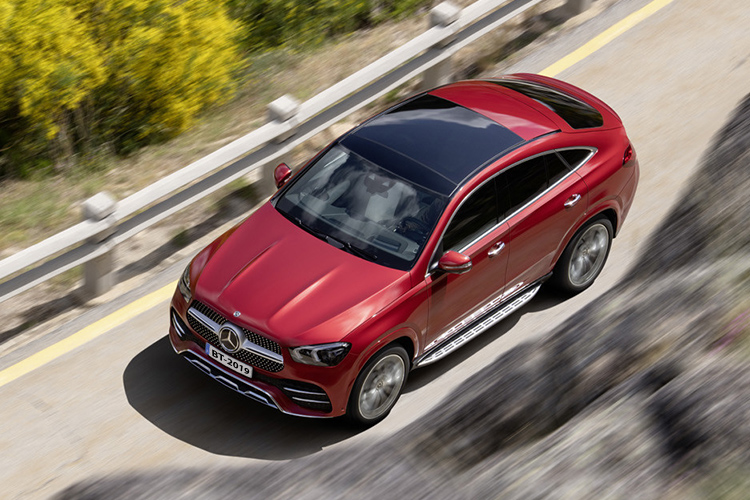 Mercedes-Benz GLE Coupé versiones disponibles