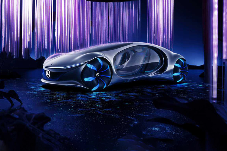 Mercedes-Benz Vision AVTR Concept en video - diseño