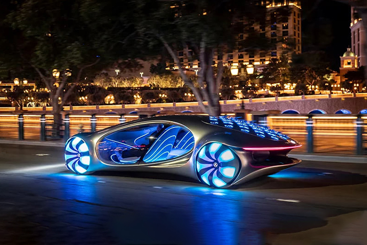 Mercedes-Benz Vision AVTR Concept en video - tecnologia