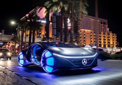 Mercedes-Benz Vision AVTR carrocería