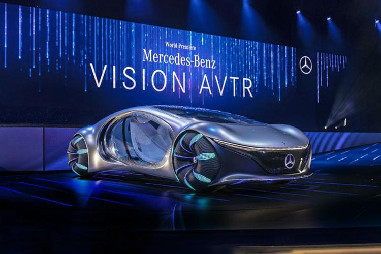 Mercedes-Benz Vision AVTR concept car innovaciones
