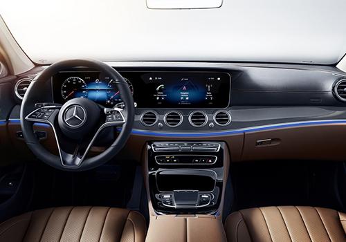 Mercedes-Benz clase E sistema de infoentretenimiento