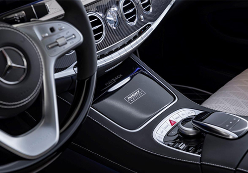 Mercedes-Maybach S 650 Night Edition edición especial emblemas