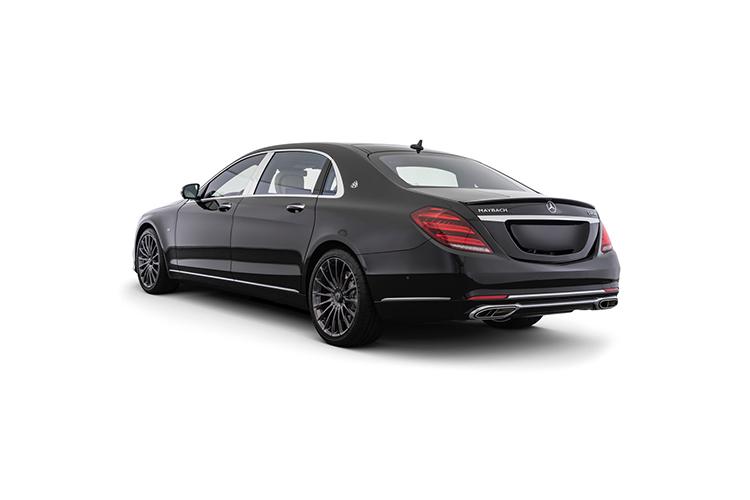 Mercedes-Maybach S 650 Night Edition edición especial tecnologia
