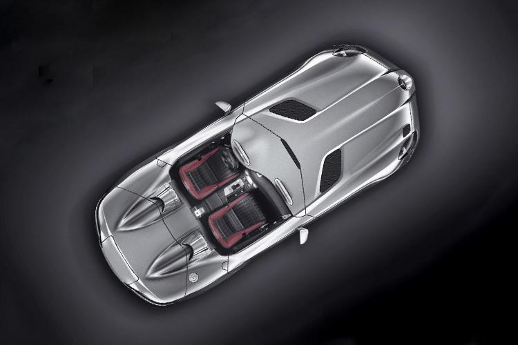 Mercedes SLR McLaren Stirling Moss edición especial carrocería