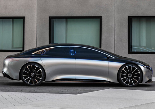Mercedes Vision EQS camaras retrovisores