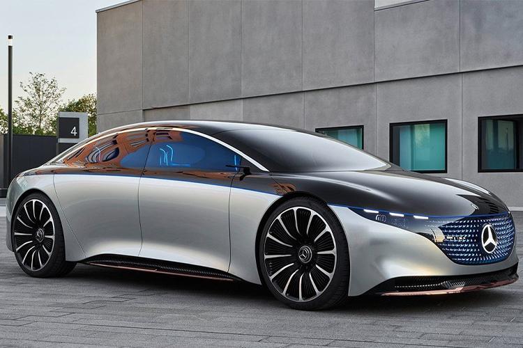 Mercedes Vision EQS electrico autonomia 700 kilometros