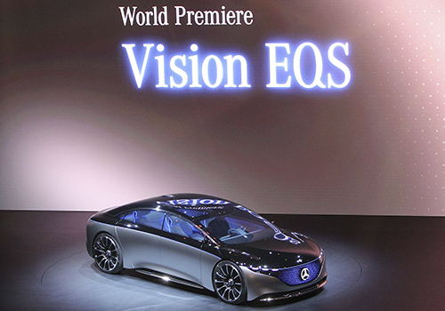 presentación en Auto Show de Frankfurt 2019