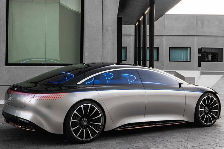 Mercedes Vision EQS tamaño
