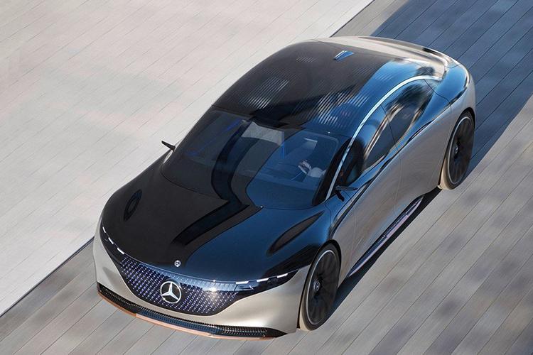 Mercedes Vision EQS tecnologia concept car