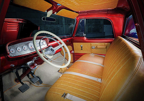 Mopar Dodge D200 Lowliner 1968 interior