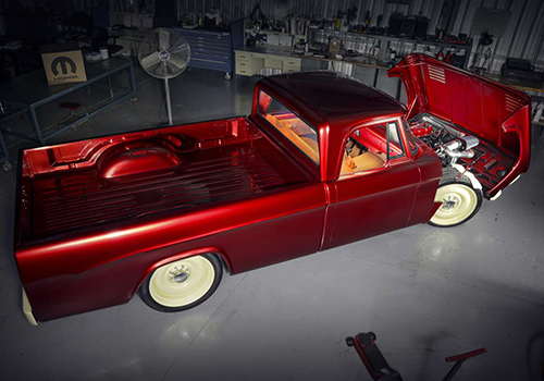 Mopar Dodge D200 Lowliner 1968 tamaño llantas de 22 pulgadas