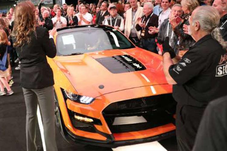 Mustang GT500 subastado