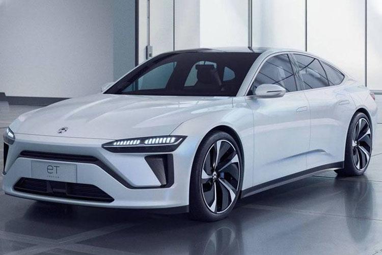 NIO ET Preview vehiculo 100% electrico para mercado chino