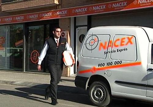 Nacex y Volkswagen entrega de paqueteria en españa