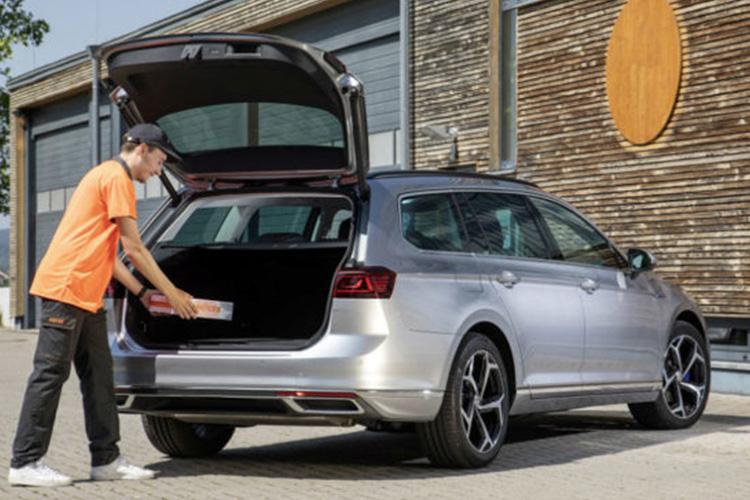 Nacex y Volkswagen entrega en la cajuela