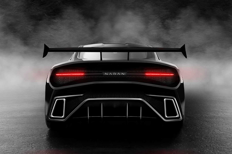 Naran V8 hypercar carrocería personalizable
