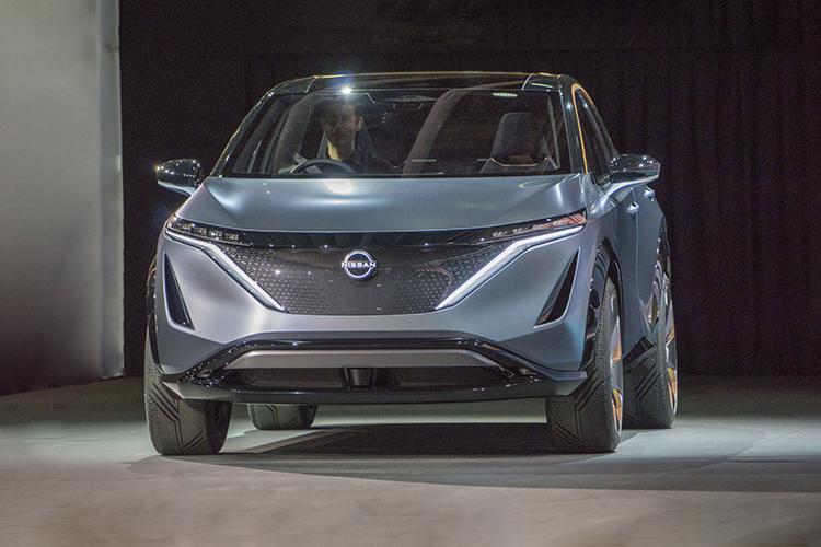 Nissan Ariya presentacion auto show de Tokio