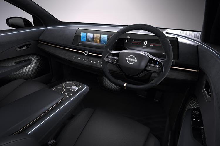 Nissan Ariya sistema de infoentretenimiento