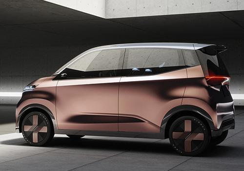 Nissan IMk Concept car autonomia