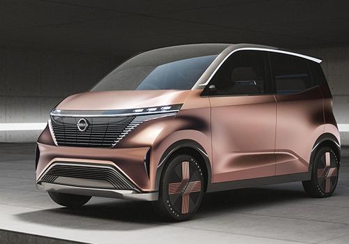 Nissan IMk Concept car compacto electrico tecnologia