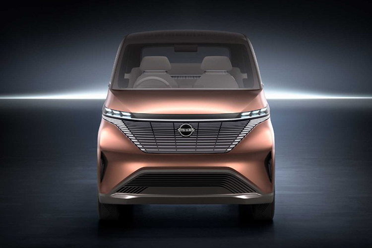 Nissan IMk Concept prototipo 100% eléc