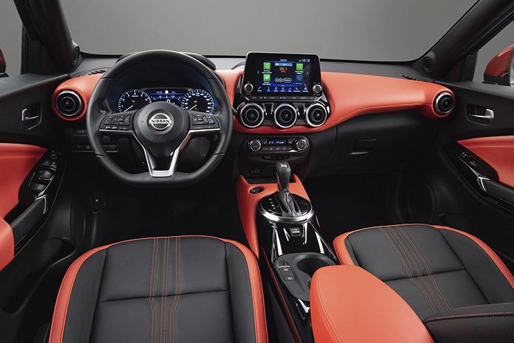 Nissan Juke sistema de infoentretenimiento