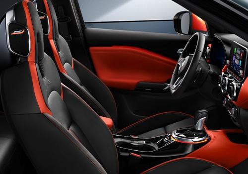Nissan Juke sonido bose bocinas en los asientos