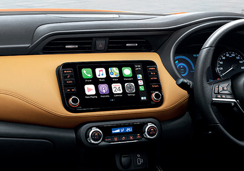 Nissan Kicks 2021 interior