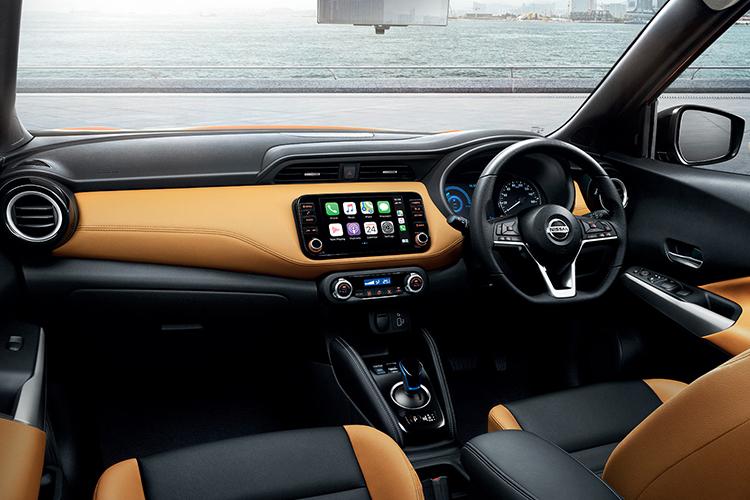 Nissan Kicks 2021 sistema de infoentretenimiento