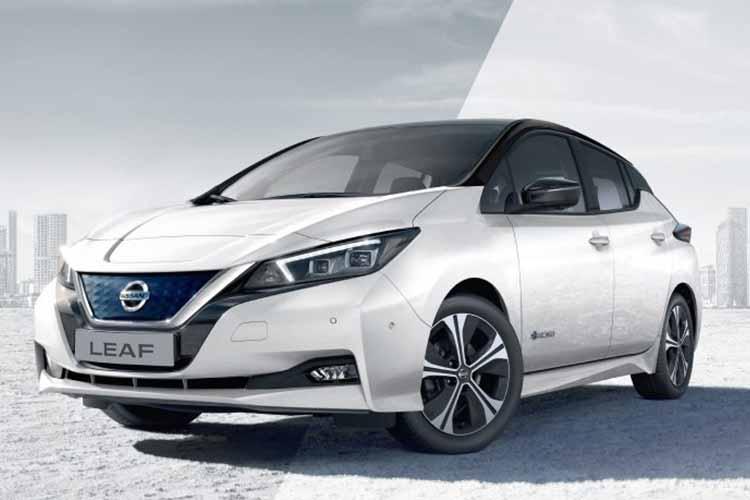 Nissan Leaf 2019 con pedal e-pedal que permite frenar y acelerar