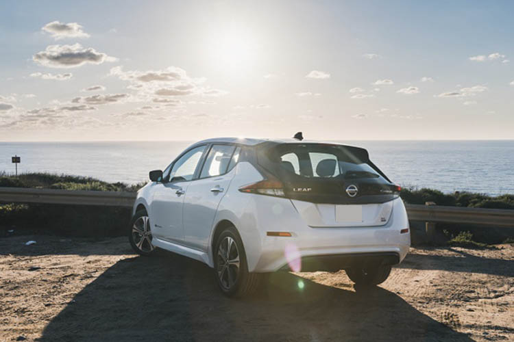 Nissan Leaf 2019_epedal