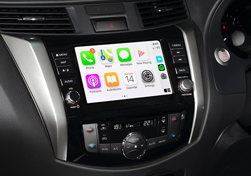 pick-up compatible con apple carplay y android auto
