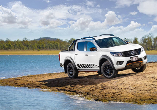 Nissan Navara N-Trek pick-up llantas de 18 pulgadas