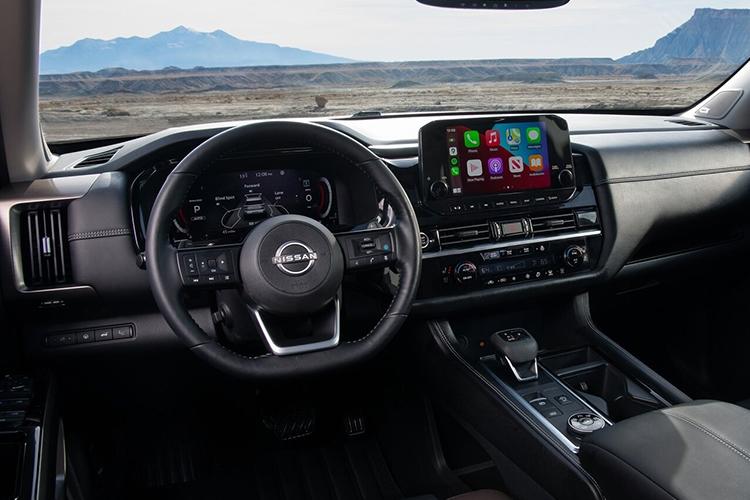 Nissan Pathfinder 2022 rediseñado sistema de infoentretenimiento