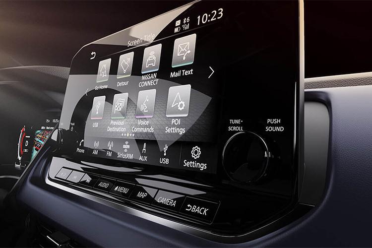 Nissan Qashqai aparecen las primeras imagenes del interior pantalla digital