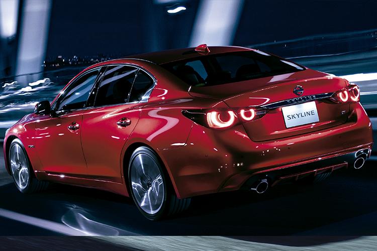 Nissan Skyline potencia maxima de 400 hp