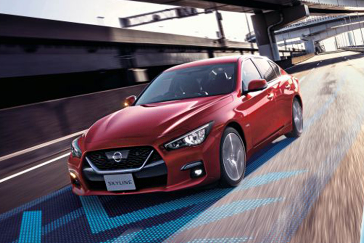 Nissan Skyline tecnologia en seguridad