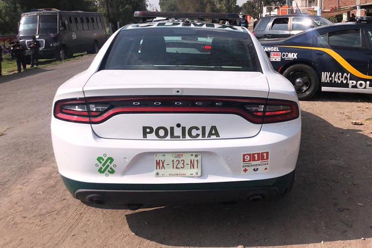 Nuevas Patrullas de la Ciudad de México con GPS