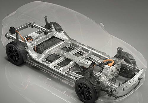 Nuevo Mazda electrico plataforma para electricos