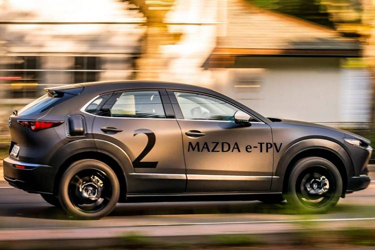 Nuevo Mazda plataforma e-TPV