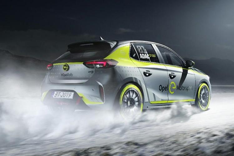 Nuevo Opel Corsa-e Rally nueva competencia